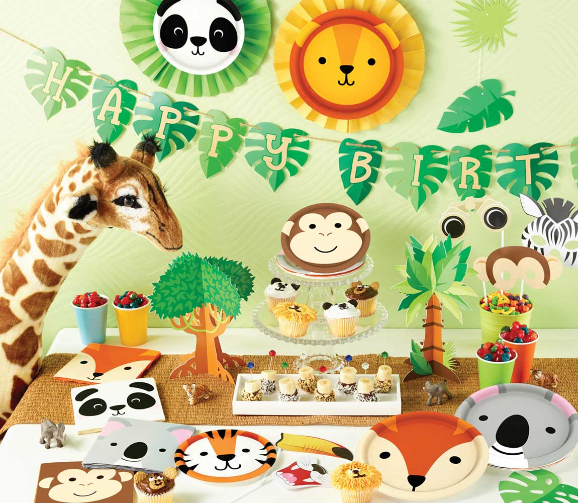Animal Faces Party Supplies Singapore