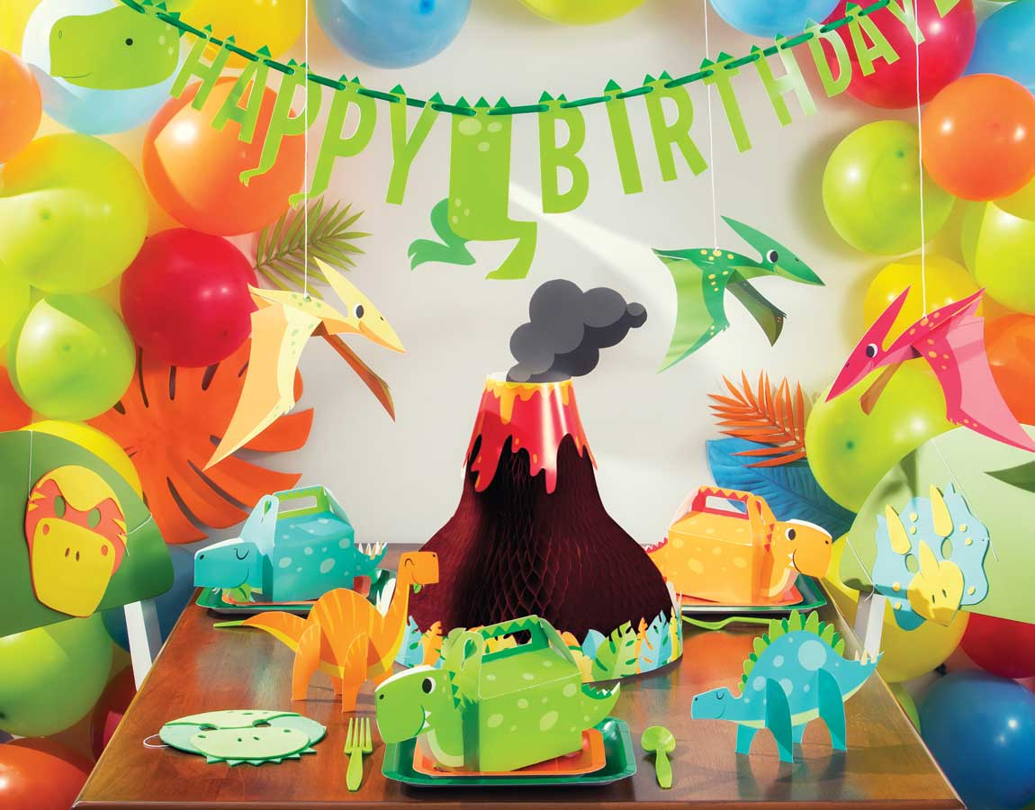 Dino Party Supplies Decorations Singapore