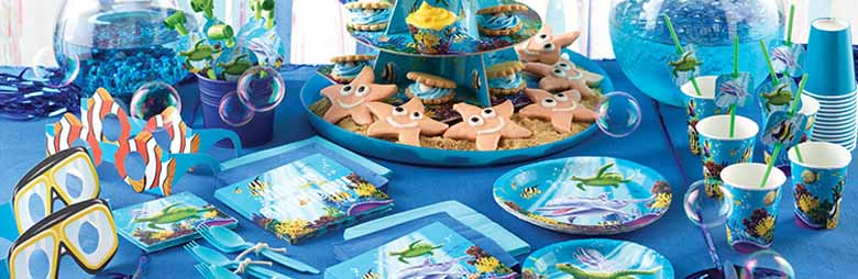 Ocean Party Theme Party Supplies