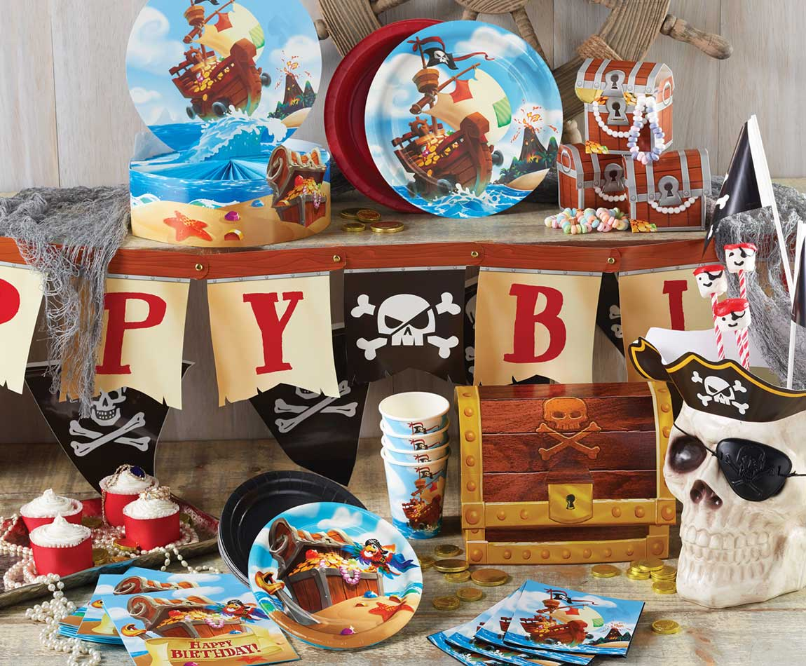 Pirate Treasure Party Supplies Singapore