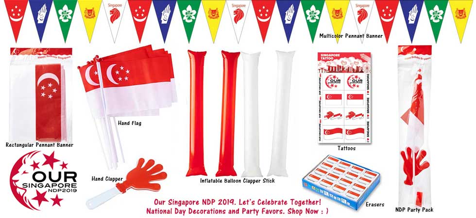 Singapore NDP 2019 Party Supplies