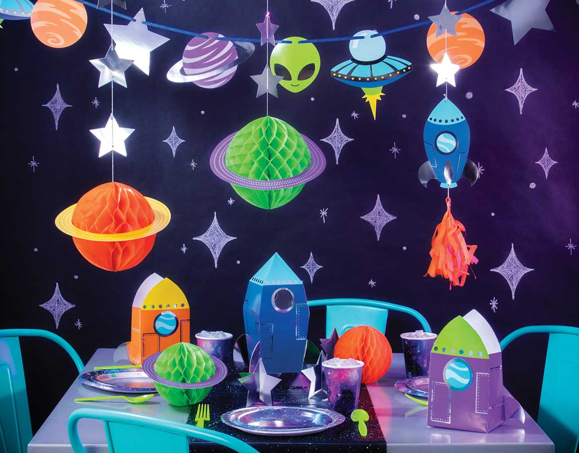 Space Party Supplies Singapore