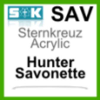 Acrylic Glass, Savonette/Hunter (SAV)