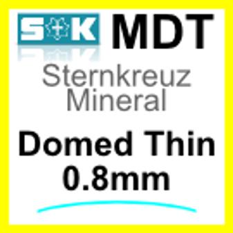 Glass, Domed 0.8mm (MDT)