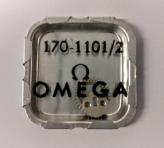 Crown Wheel and Core, Omega 170 #1101/02  (Omega 33.3, Lemania 15)