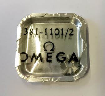 Crown Wheel, Omega 381 #1101/02