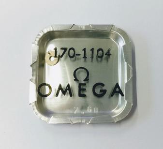 Click, Omega 170 #1104 (Omega 33.3, Lemania 15)