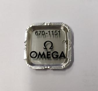 Crown Wheel Set Wheel, Omega 670 #1151