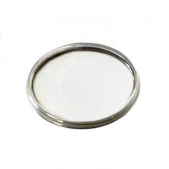 Glass, Omega PZ5137 PZ5142, Steel Ring XAC 316.595 (Generic)