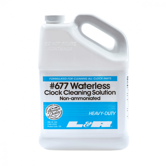 L & R 677 Waterless Clock Cleaning Solution
