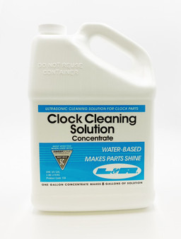 L & R Clock Cleaning Solution Concentrate