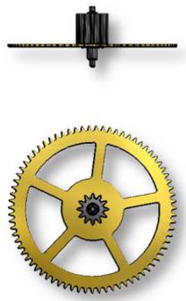 Third Wheel, Sellita SW500 #210