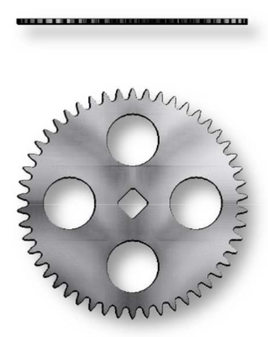 Ratchet Wheel, Sellita SW500 #415