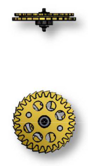 Reversing Wheel, Sellita SW500 #1488