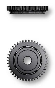Oscillating Weight Bearing, Sellita SW500 #1497