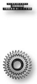 Intermediate Setting Wheel, Sellita SW500 #453