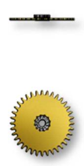 Minute Wheel, Sellita SW200-1 #260
