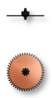 Reduction Wheel, Sellita SW200-1 #1481