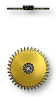 Ratchet Wheel Driving Wheel, Sellita SW200-1 #1482