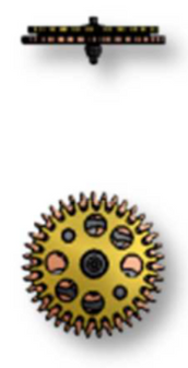 Reversing Wheel, Sellita SW200-1 #1530 (#1545)