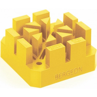 Bracelet Holding Block, Soft and Flexible with Wide Slots (Bergeon 6744-P1-S)