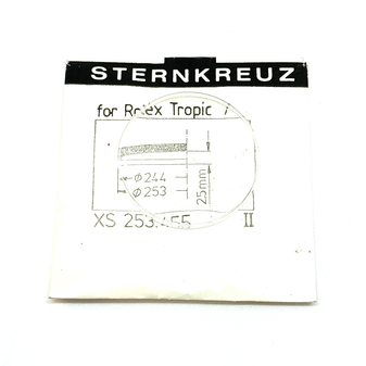 Glass, XS 253.455 for Rolex TROPIC 7