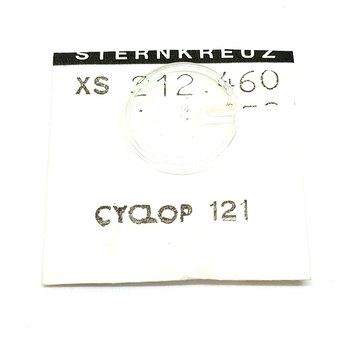Glass, XS 212.460 for Rolex CYCLOP 121