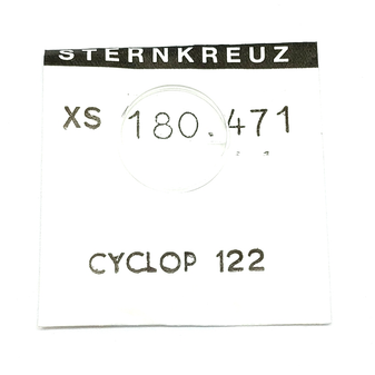 Glass, XS 180.471 for Rolex CYCLOP 122