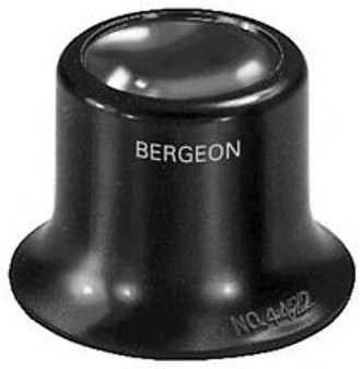 Eyeglass, Black No. 3.5 = 2.8x (Bergeon 4422-3.5)