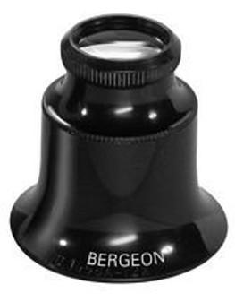 Eyeglass, Double Lens, High Magnification 15x (Bergeon 1458A-15X)