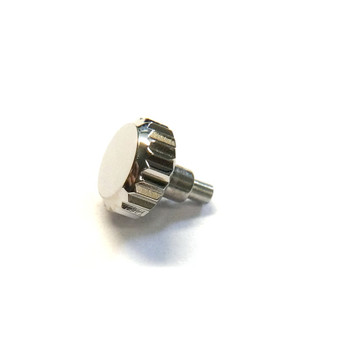 Crown, Rolex Screw Crown, Stainless Steel, Ø6.00mm #24-600 (Generic Swiss)