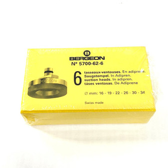 Hard Suction Dies, Set of 6 (Bergeon 5700-62-6)