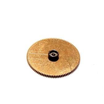 Barrel Core and Ratchet Wheel, Lemania 5100 #197 [=Omega 1045 #1100]