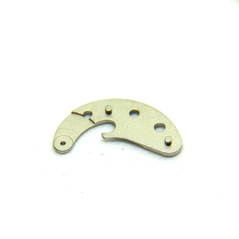 Automatic Device Bridge Upper, Steel Colour, Lemania 5100 #1155 [=Omega 1045 #1031]