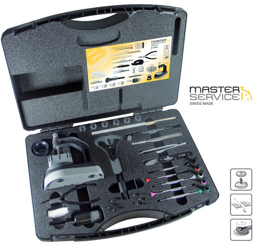 Watchmakers Master Service Toolkit and Case, Bergeon 7815