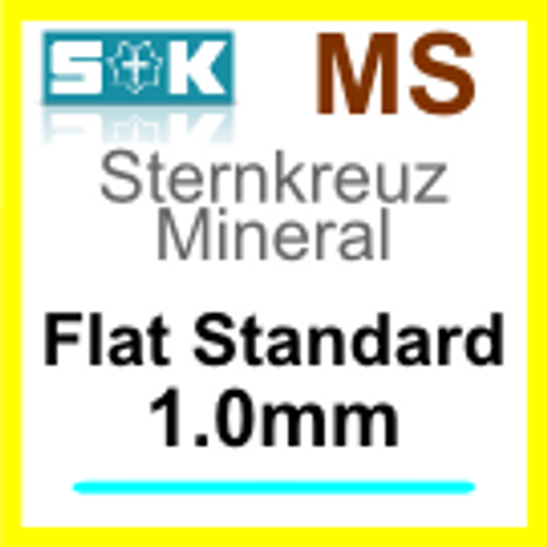 Glass, Flat 1.0mm (MS)