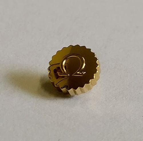Crown, Omega Gold Plated, Dustproof Tap 9 Ø4.50mm (9x24)