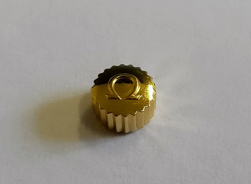 Crown, Omega  Gold Plated, Waterproof, Tube 200, Tap 9 Ø4.50mm (9x24)