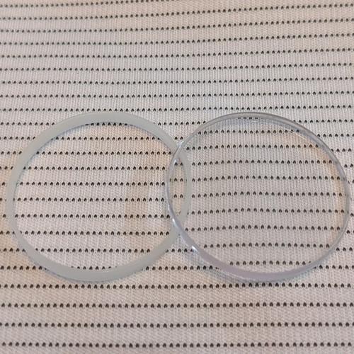 Glass with Gasket, Sapphire, Rolex 25-285 Sea Dweller (Generic)