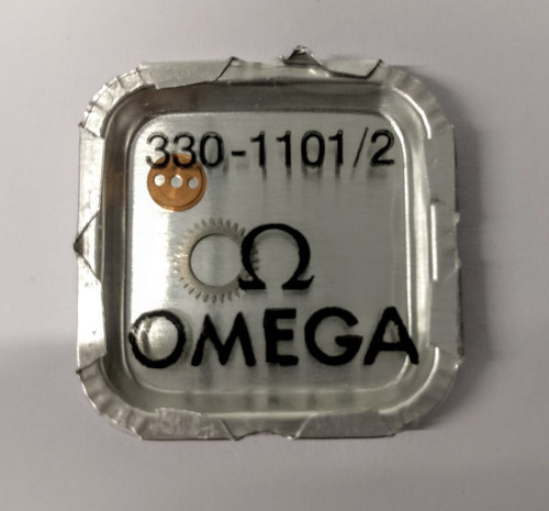 Crown Wheel and Core, Omega 330 #1101/02