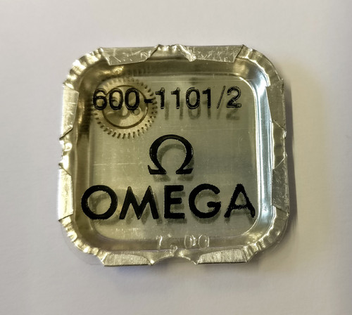 Crown Wheel and Core, Omega 600 #1101/02