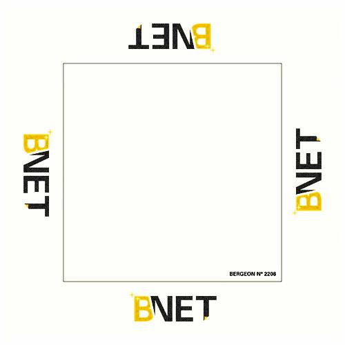 Bergeon 2208 B-Net Cleaning Microfiber Cloth