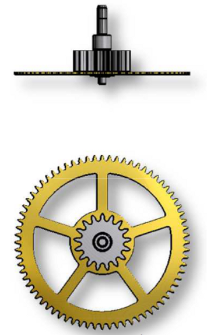 Great Wheel, Sellita SW500 #201-1