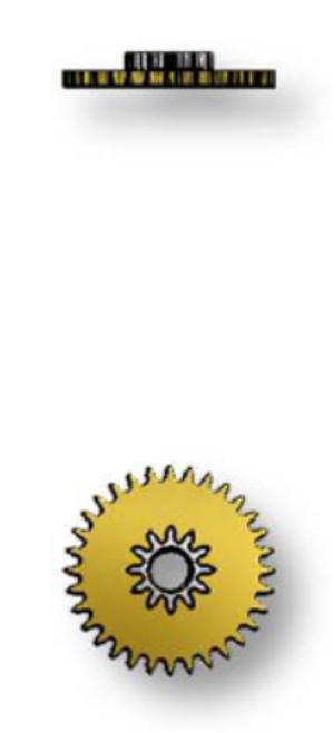 Intermediate Calendar Wheel, Sellita SW500 #2543