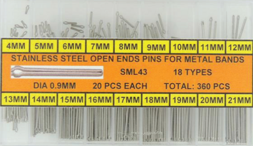Assortment, Split Pins