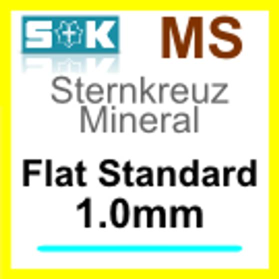 Glass, Flat 1.0mm (MS)