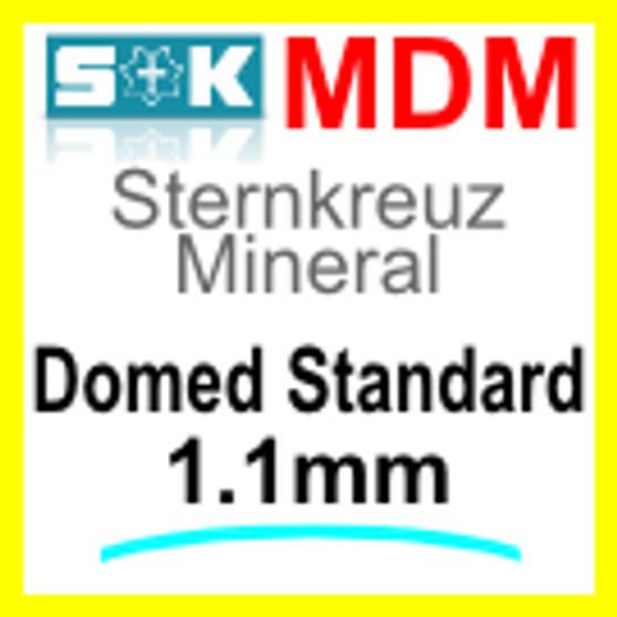 Glass, Domed 1.0mm (MDM)