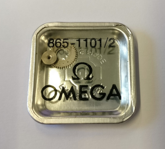 Crown Wheel and Core, Omega 865 #1101/02