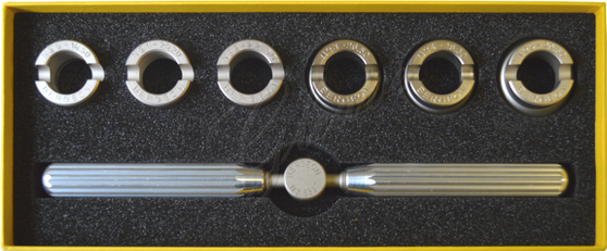 Rolex Case Opener with 6 Dies (Bergeon 5537)