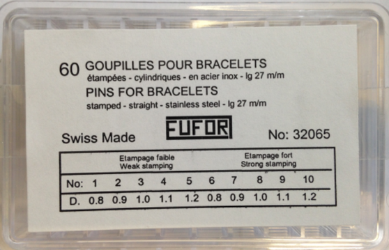 Assortment, Stamped Pins (EUFOR)